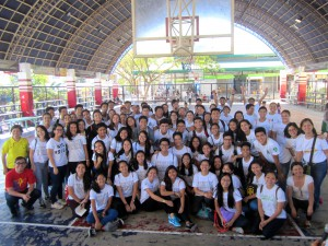 Volunteers of 'Goodbye Gutom' Feeding Program