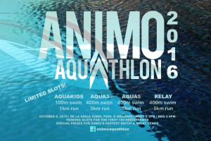 animo aquathlon 2016 poster