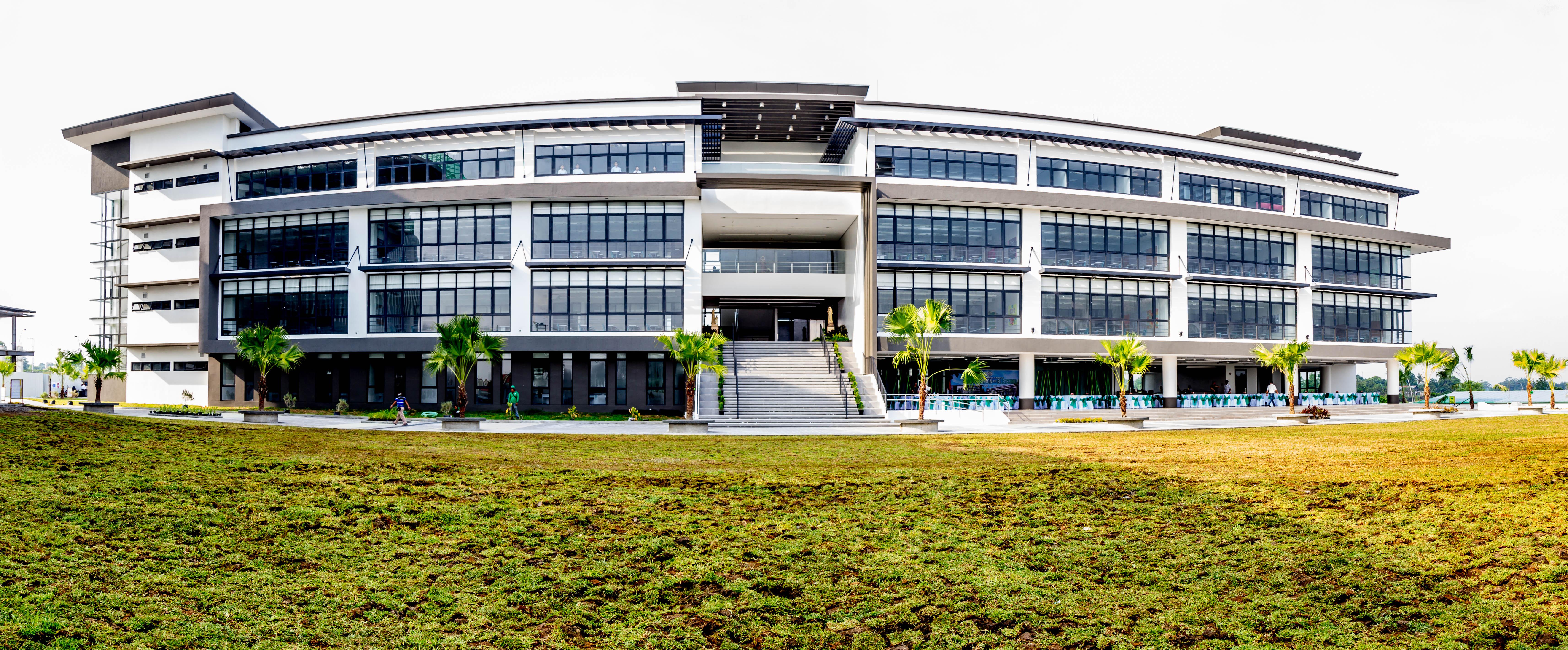 The Senior High School Building