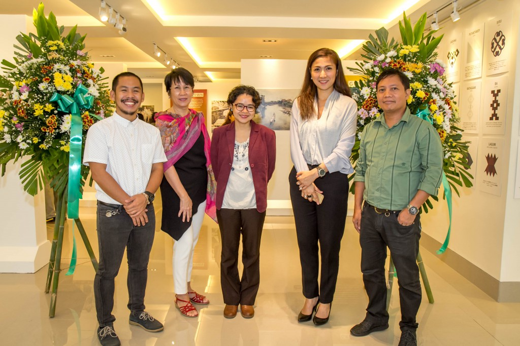 (L-R) Ivan Bilugan, Suzanne Yupangco, Faye Cura, Lynette Feliciano, Thomas Daquioag