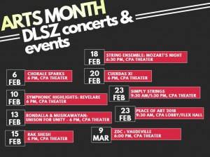 Sched of Concerts & Events