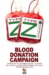 Blood Donation Poster 11x17inch